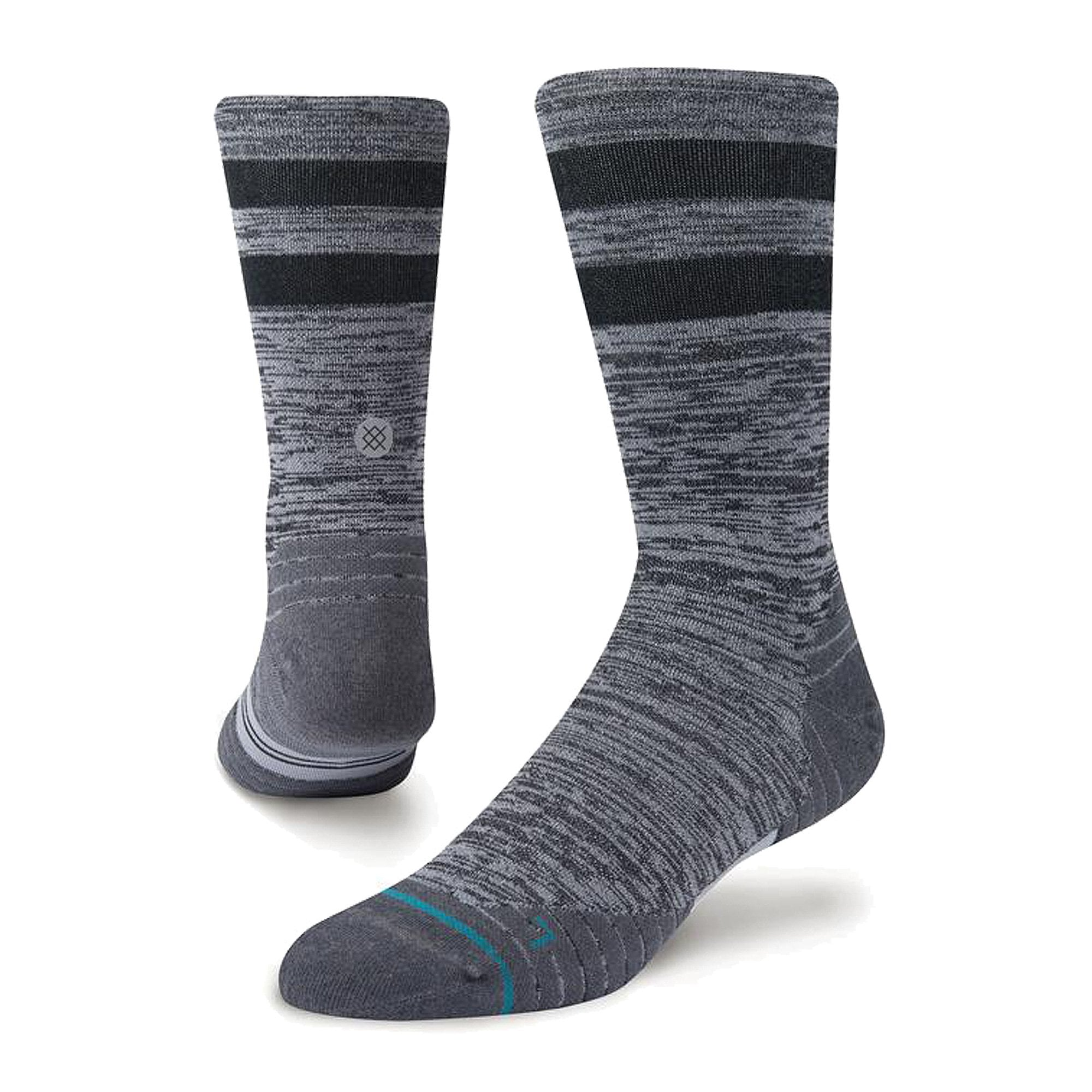 13-16 New STANCE Men/'s Uncommon Solids Tab Running Sock XL