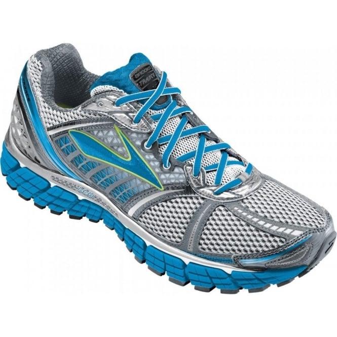 70cbaedd03f Trance 12 Road Running Shoes White Silver Black Blue Neptune Sea ...